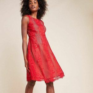 NWT Anthropologie #220 lace Georgia Mini Dress 6